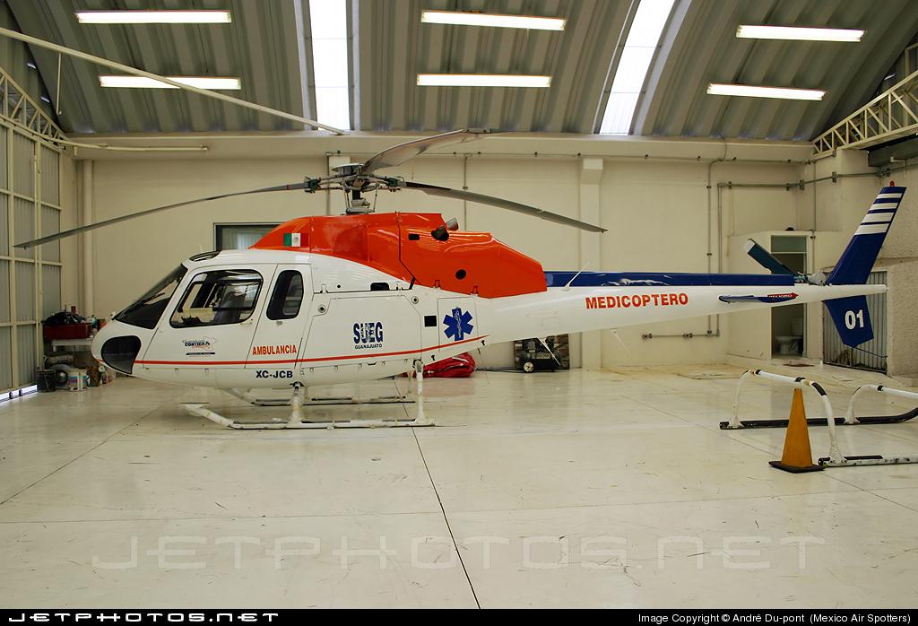Aeronaves  Matriculas  XC-  ( Por Estados) Eurocopter_AS_355_F1_Twin_Star