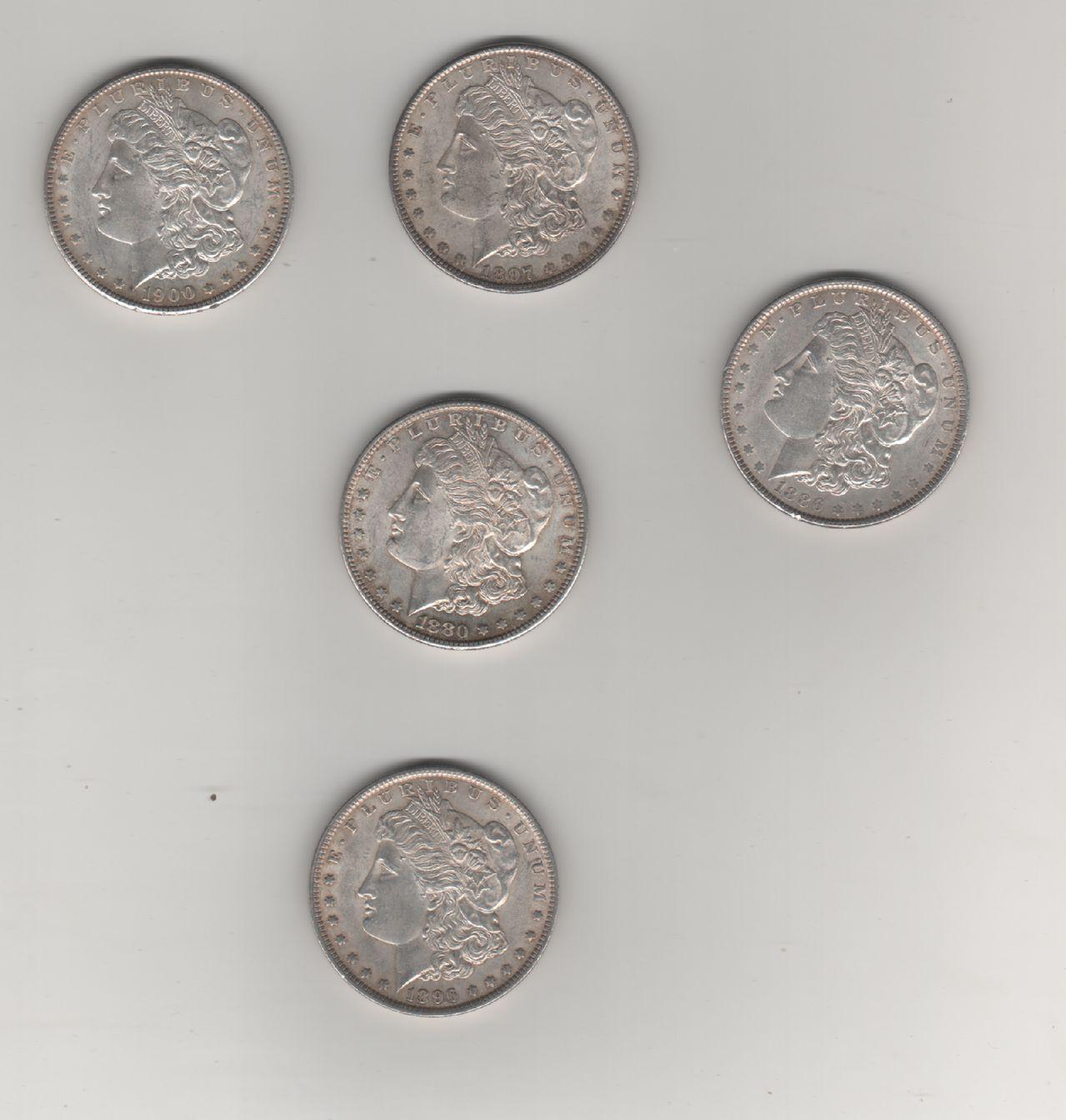 Dolares Siglo XIX Monedas
