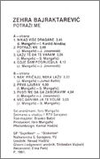 Zehra Bajraktarevic- Diskografija Zehra_Bajraktarevic_1991_kz