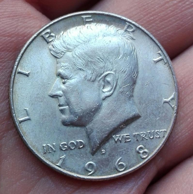 1/2 dollar EEUU 1968. Kennedy  IMG_20161008_200815