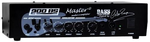 Cabeçote Master Áudio 200BS 200_BS