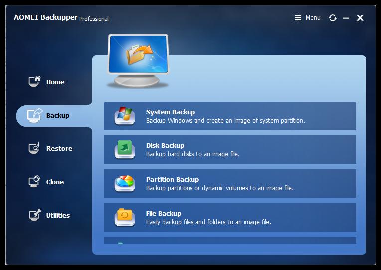 AOMEI Backupper 4.0.6 Professional Multilingual 00429