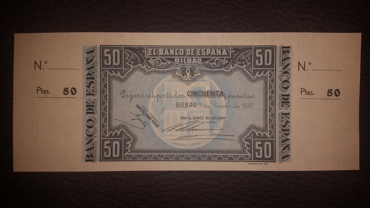 Colección de billetes españoles, sin serie o serie A de Sefcor pendientes de graduar - Página 2 20170217_203755