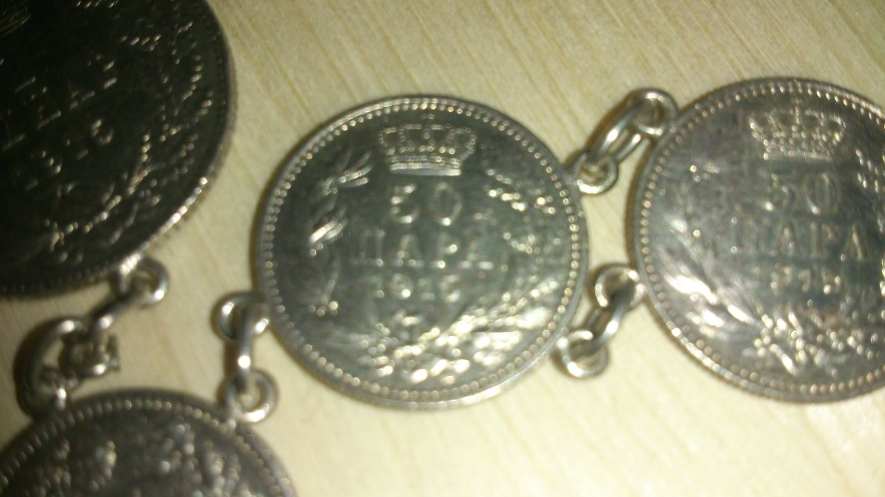 Pulsera monedas plata DSC_0003