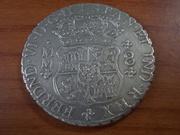 8 Reales  Fernando VI ceca de Méjico , 1.759 DSCN0874