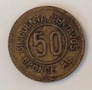 Guatemala 50 centavos 1922 IMG_4770