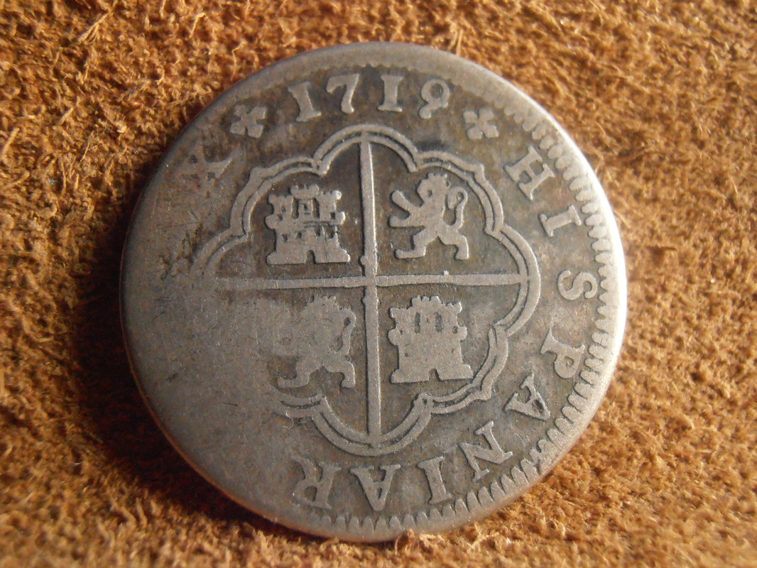 1 Real Felipe V , ceca de Segovia-1726. P3080005