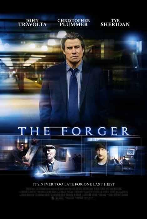 John Travolta The_Forger_Poster