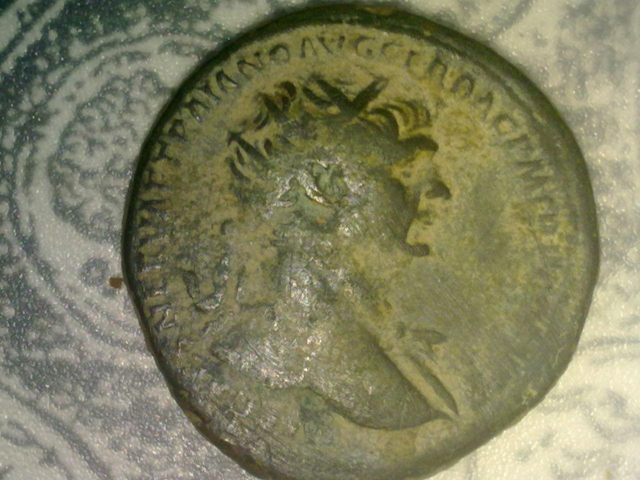 Dupondio de Trajano. S P Q R OPTIMO PRINCIPI/ S C. Spes P_001