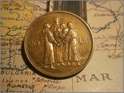 20 Lei Rumania 1930 Mihail I P1060370