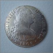 8 Reales 1808 Carolus IIII Potosi PJ Image
