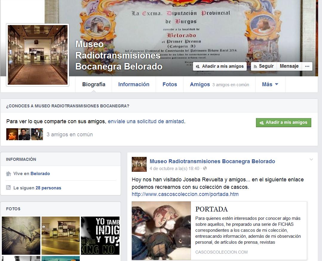 """Quedada casquera... Belorado, 04-X-14. Museo de Radiotransmisiones """"Inocencio Bocanegra"""" Screenshot_250"""
