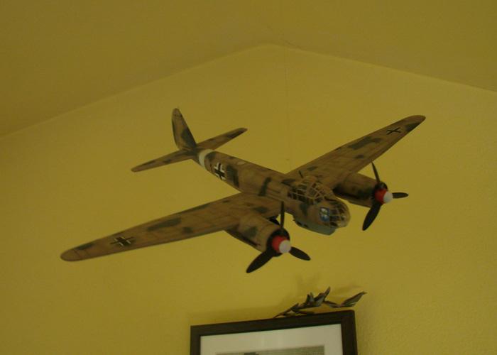 Junkers Ju-88A-4, Revell(rebuild), 1/72 DSC03202