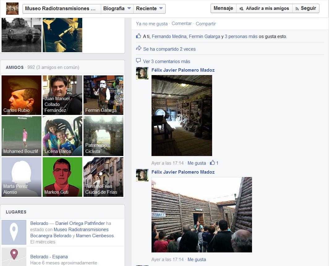 """Quedada casquera... Belorado, 04-X-14. Museo de Radiotransmisiones """"Inocencio Bocanegra"""" Screenshot_251"""