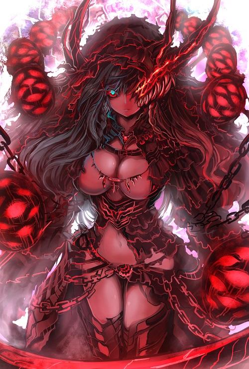 Akasha Yuudeshi {APPROVED NPC; 2-5} Demon