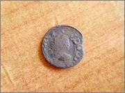 Dinero de Vich. Luis XIV. Guerra de los Segadores P1270467