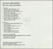Vesna Zmijanac - Diskografija  1983_2_ka_z