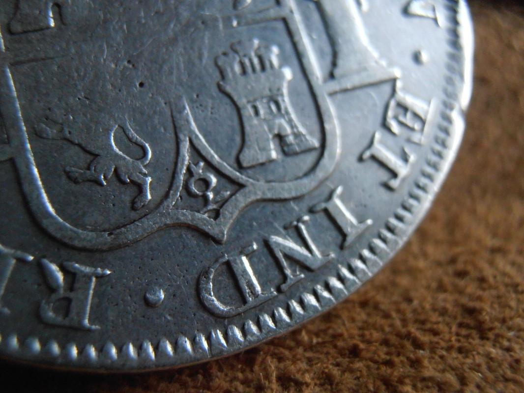 zacatecas - 8 Reales 1819. Fernando VII. Zacatecas AG P5050024