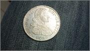 8 Reales 1809 Fernando VII Mexico ( busto imaginario ) 20150429_135738