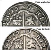 Posibles 8 reales segovianos falsos, Felipe IV 8_reales_1659