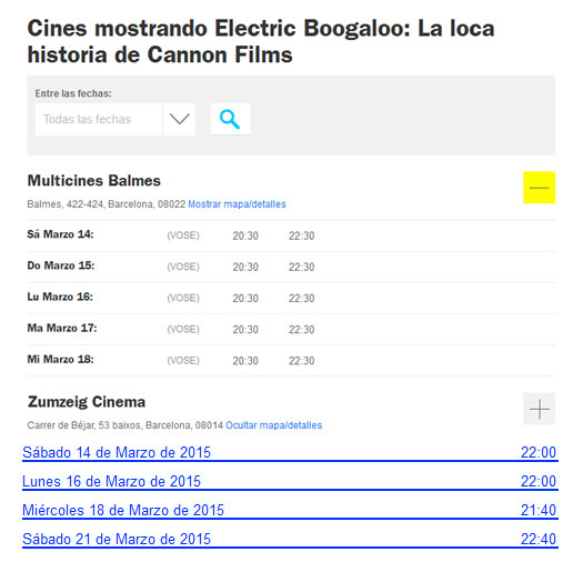 Electric Boogaloo (Electric Boogaloo: La loca historia de Cannon Films) 2015 Cines_Electric_Boogaloo
