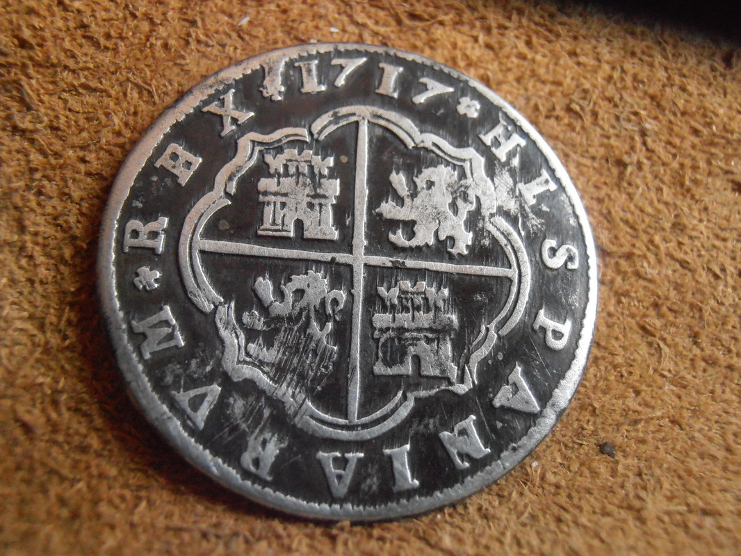 2 reales de Felipe V - Segovia: VARIANTES 1717