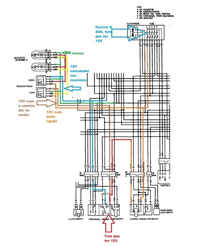 Luzes nao funcionam - CBR900 URGENTISSIMO IpoB a porta (RESOLVIDO) Ajuda_CBR