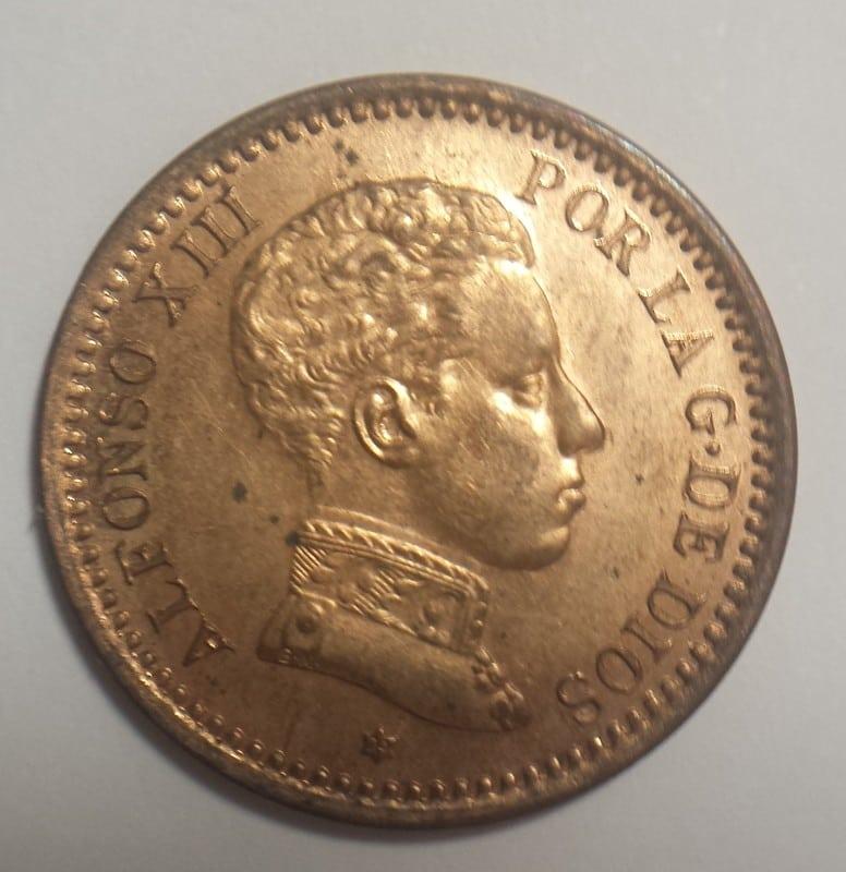 2 centimos 1904. Alfonso XIII. SMV 20161102_202855_1