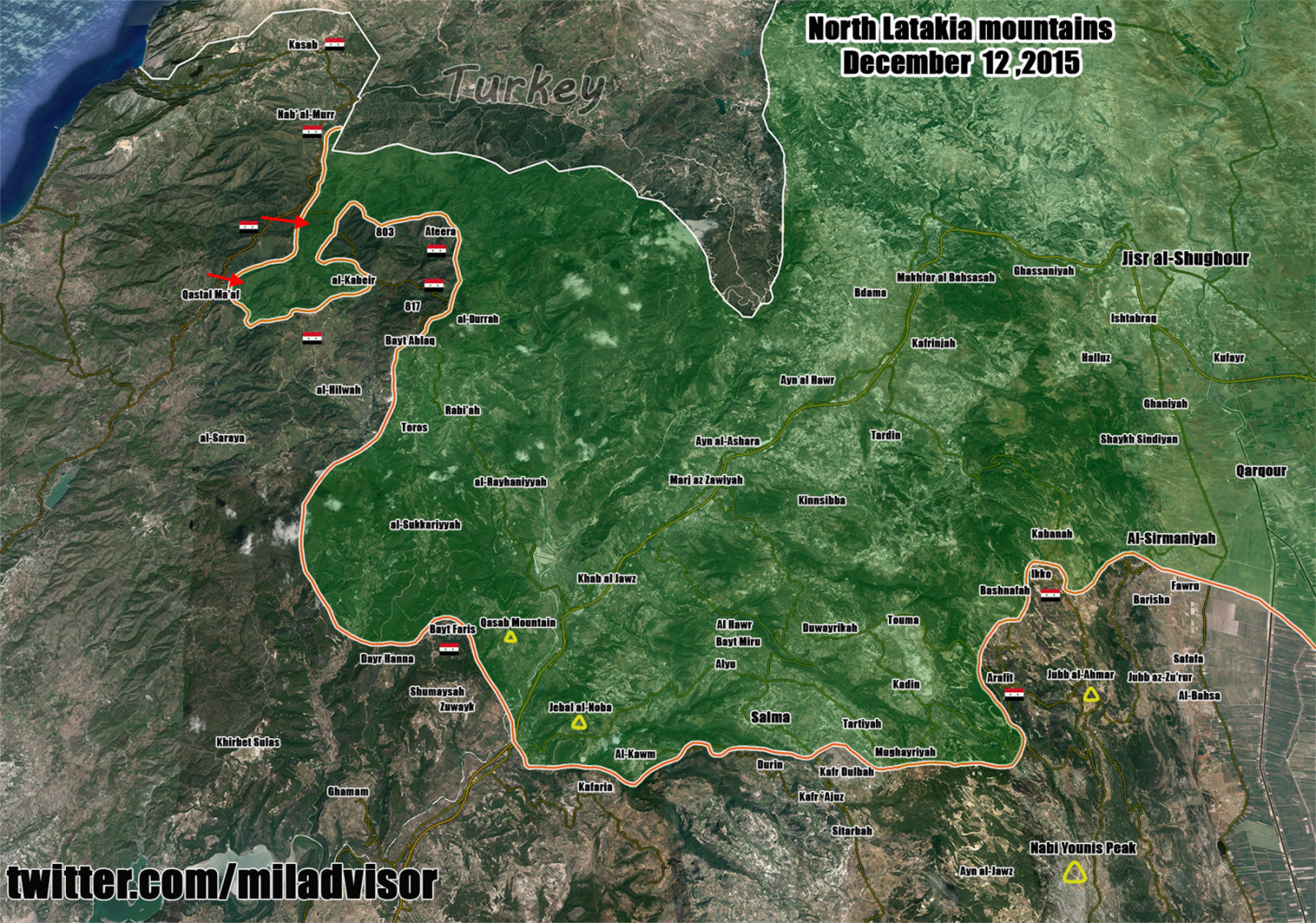 Syrian Civil War: News #5 Latakia12122015
