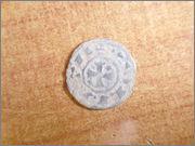 "Dinero ""bienpeinao"" de Alfonso VIII (1158-1214) de Toledo P1150065"
