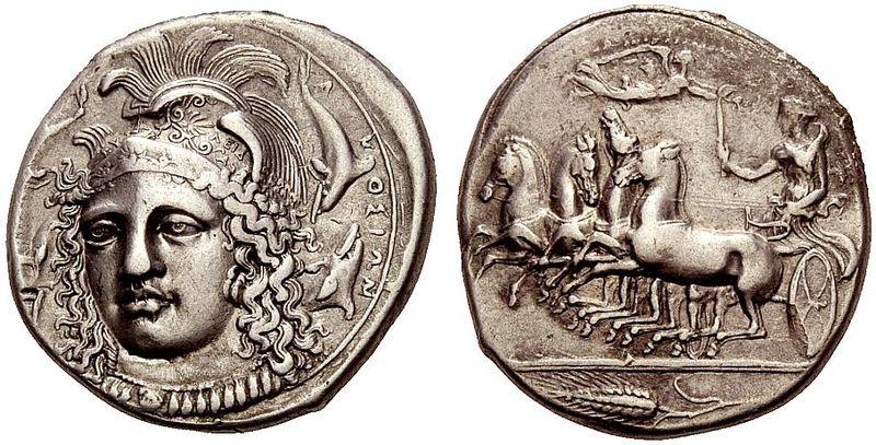 Peloponeso, Liga Aquea. Hemidracma, 196-146 a. C. 800px_Silver_Tetradrachm_of_Syracuse_Sicily_S