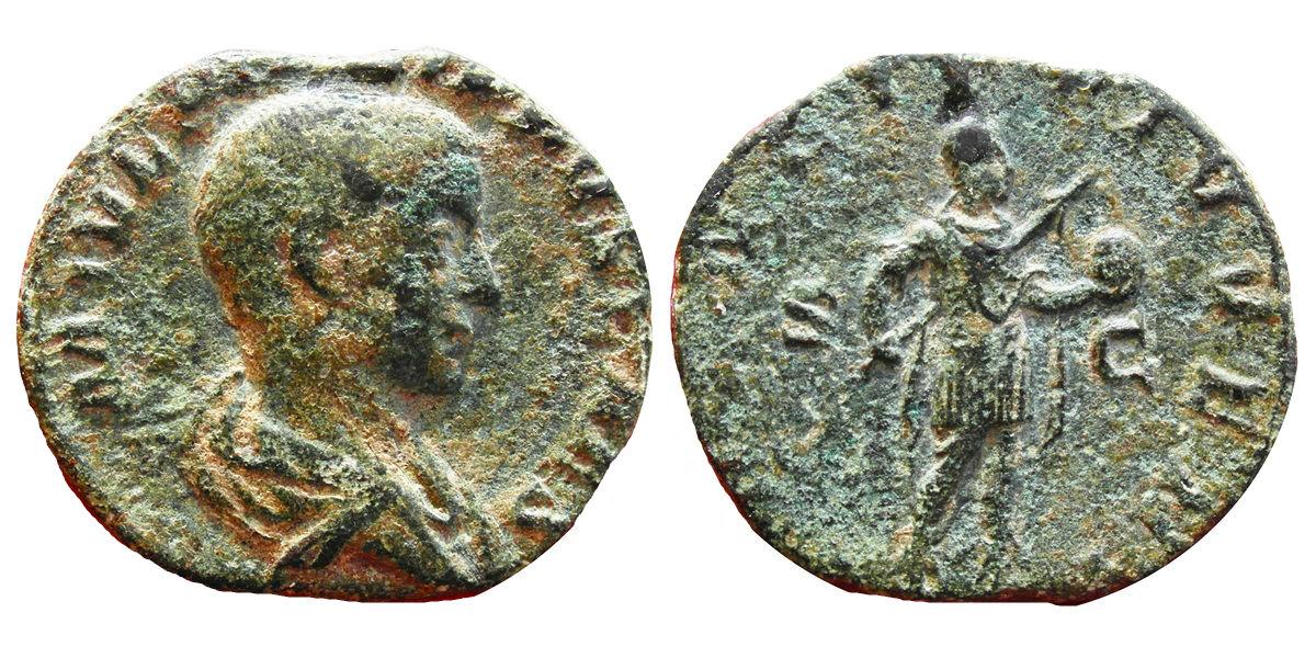 Sestercio de Filipo II. PRINCIPI IVVENT. Roma Image