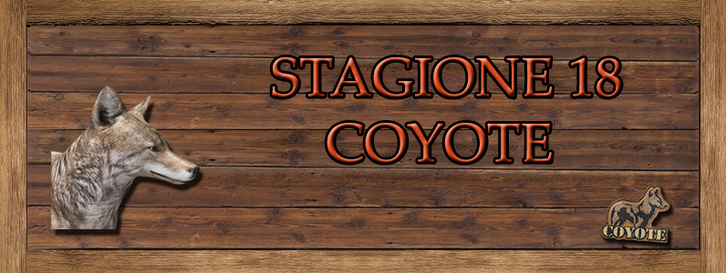 Coyote - ST. 18 COYOTE