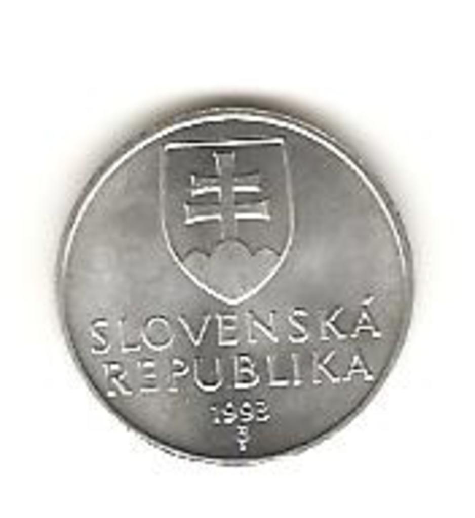 10 Haleru de 1993 Eslovaquia Image