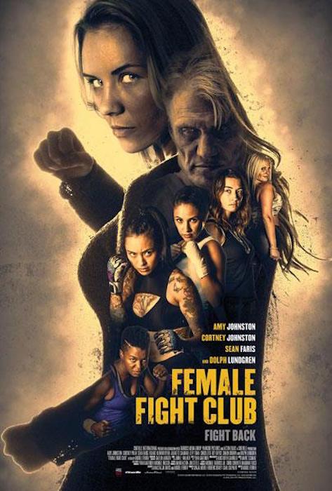 Female Fight Club/Female Fight Squad (2016) Famale_Fight_Club_poster_3