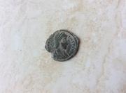 AE3/4 de Constancio II. FEL TEMP-REPARATIO. Soldado alanceando a jinete caido. Ceca Sirmium. Image