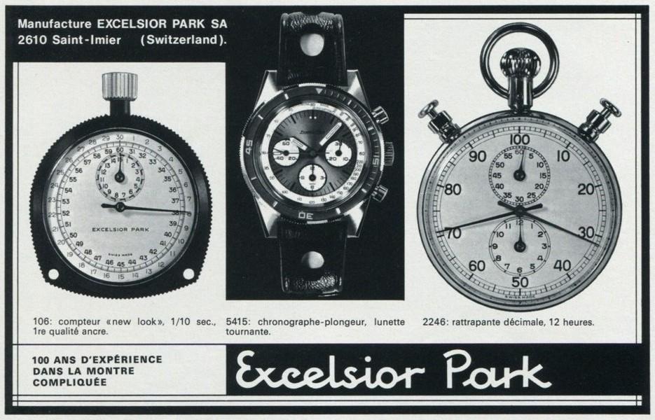 Girard-Perregaux Olimpico...revue complément d'enquête... Excelsior_1976