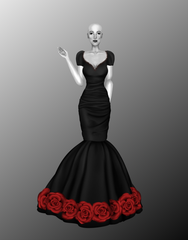 Leandra's Weekly Design Challenge: #2 Roses Zzww