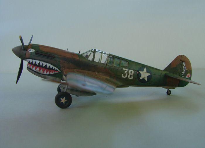 P-40E, Hobby Boss, 1/72 DSC03365