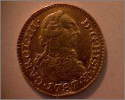 1/2 escudo de Carlos III, Madrid. 1787. 370a