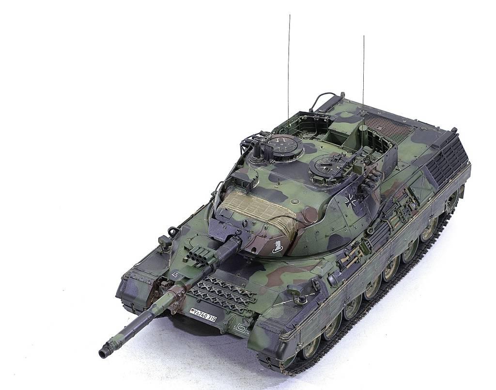 Leopard 1A5 Meng 1/35 CmvfU