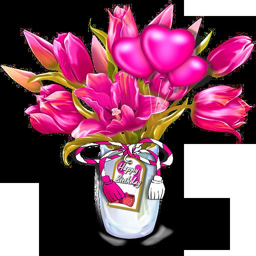 Клипарты: цветы - Страница 3 Oveh6