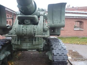203-мм гаубица образца 1931 года Б-4  (Артиллерийский музей С.Петербург 2013) 5z38R