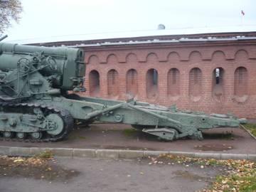 203-мм гаубица образца 1931 года Б-4  (Артиллерийский музей С.Петербург 2013) AUaOw