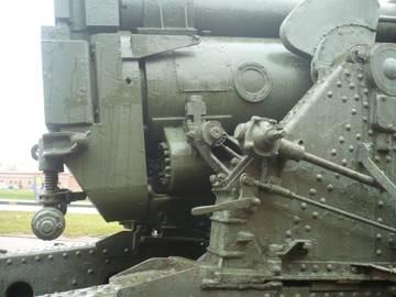 203-мм гаубица образца 1931 года Б-4  (Артиллерийский музей С.Петербург 2013) H7W0Q
