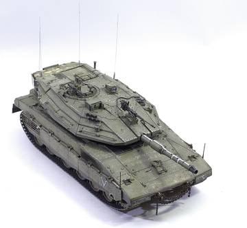Merkava IV Hobby Boss 1/35 JgSCv