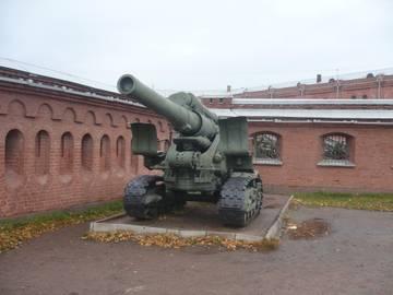 203-мм гаубица образца 1931 года Б-4  (Артиллерийский музей С.Петербург 2013) OnCci