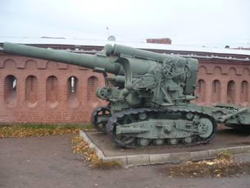 203-мм гаубица образца 1931 года Б-4  (Артиллерийский музей С.Петербург 2013) Wa83z