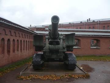 203-мм гаубица образца 1931 года Б-4  (Артиллерийский музей С.Петербург 2013) ZLbXe