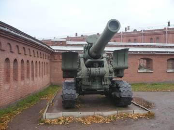 203-мм гаубица образца 1931 года Б-4  (Артиллерийский музей С.Петербург 2013) L4rXN